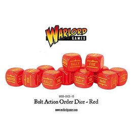 Warlord Games Orders Dice - Red (12)