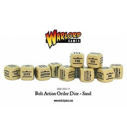 Warlord Games Orders Dice - Sand (12)