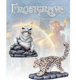 Warlord Games Ice Toad & Snow Leopard