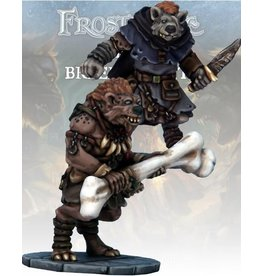 Osprey Publishing Gnoll Thief & Barbarian