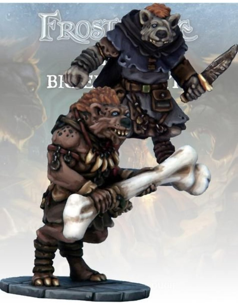 Osprey Publishing Gnoll Thief & Barbarian Blister Pack