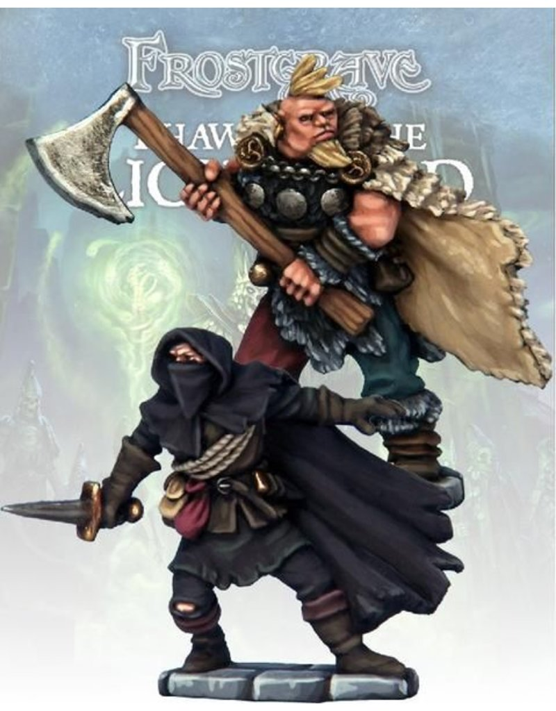 Osprey Publishing Cult Thief & Barbarian Blister Pack