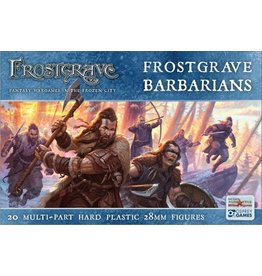 North Star Figures Frostgrave Barbarians