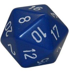 Blue D20 Dice