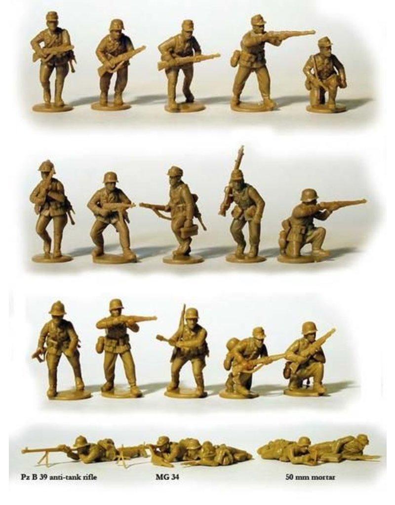 Perry Miniatures Afrikakorps, German Infantry 1941-43
