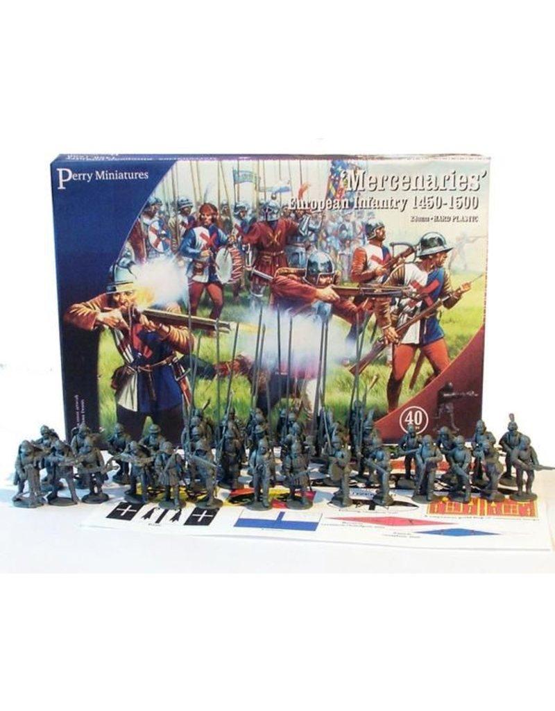Perry Miniatures Mercenaries' European Infantry 1450-1500 Box Set