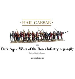 Warlord Games War Of The Roses Infantry 1455-1487