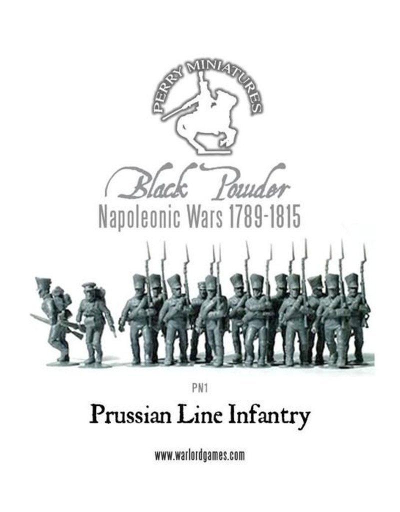 Perry Miniatures Prussian Napoleonic Line Infantry 1813-1815