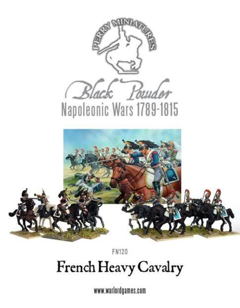 Perry Miniatures French Napoleonic Heavy Cavalry 1812-1815