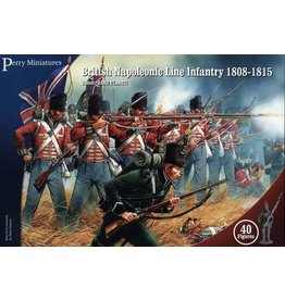 Warlord Games British Napoleonic Line Infantry 1808-1815