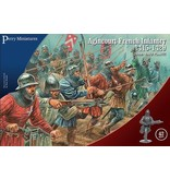 Perry Miniatures Agincourt French Infantry 1415-1429
