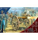 Perry Miniatures American Civil War 1861-1865 Artillery Box Set