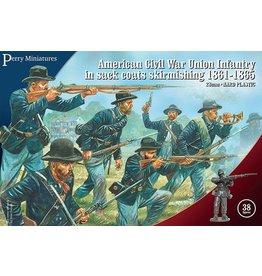 Warlord Games American Civil War Union Infantry in sack coats Skirmishing