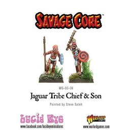 Warlord Games Jaguar Tribe Chief & Son (2 figs)