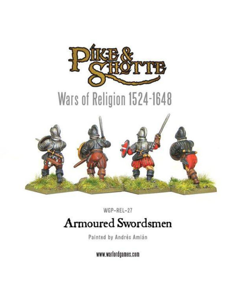 Warlord Games Wars Of Religion 1524-1648 Armoured Swordsmen Pack
