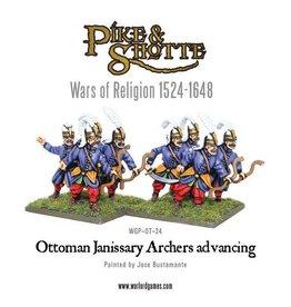 Warlord Games Ottoman Janissary Archers Advancing