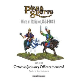 Warlord Games Ottoman Janissary Officers Mounted