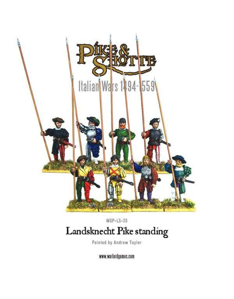 Warlord Games Italian Wars 1494-1559 Landsknecht Pike Standing Pack