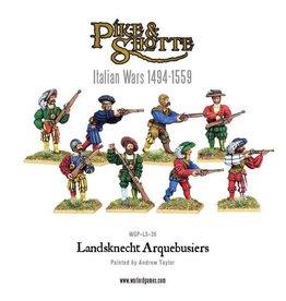 Warlord Games Landsknecht Arquebiers