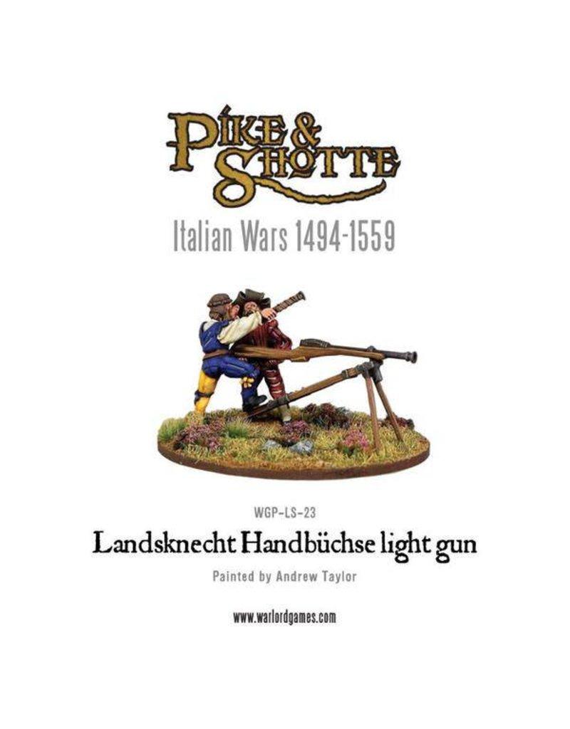 Warlord Games Italian Wars 1494-1559 Landsknecht Handbuchse Light Gun Pack