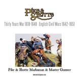 Warlord Games 30 Years War 1618-1648 Marksman & Master Gunner Pack