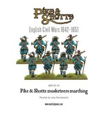 Warlord Games English Civil Wars 1642-1652 Pike & Shotte Musketeers Marching Column