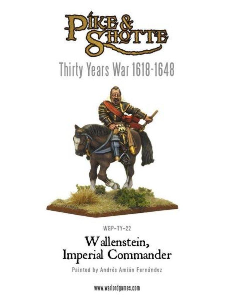 Warlord Games 30 Years War 1618-1648 Wallenstein - Imperialist Commander Pack