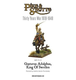 Warlord Games Gustavus Adolphus - King Of Sweden