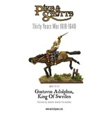 Warlord Games 30 Years War 1618-1648 Gustavus Adolphus - King Of Sweden Pack