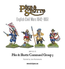 Warlord Games Pike & Shotte Command Group 3