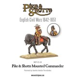 Warlord Games English Civil Wars 1642-1652 Pike & Shotte Mounted Commander Pack