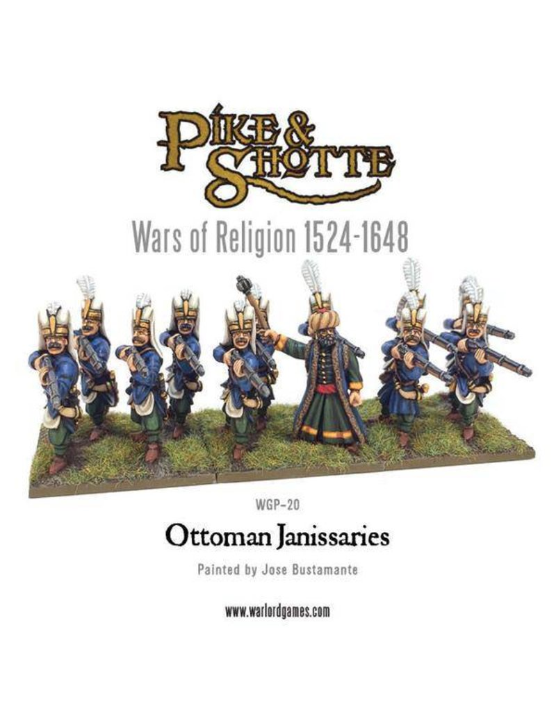 Warlord Games Wars Of Religion 1524-1648 Ottoman Janissaries Box Set