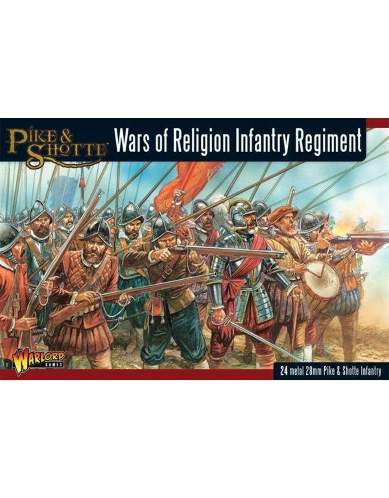 Warlord Games Wars Of Religion 1524-1648 Infantry Regiment Box Set