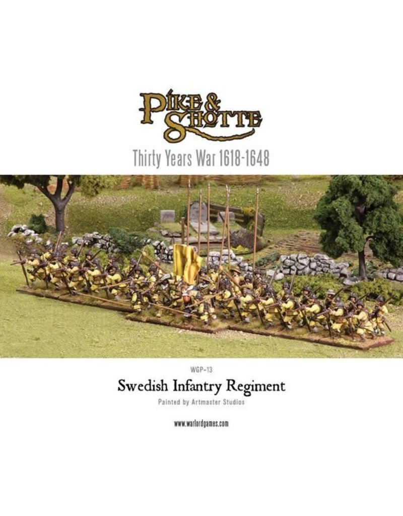 Warlord Games 30 Years War 1618-1648 Swedish Infantry Regiment Box Set