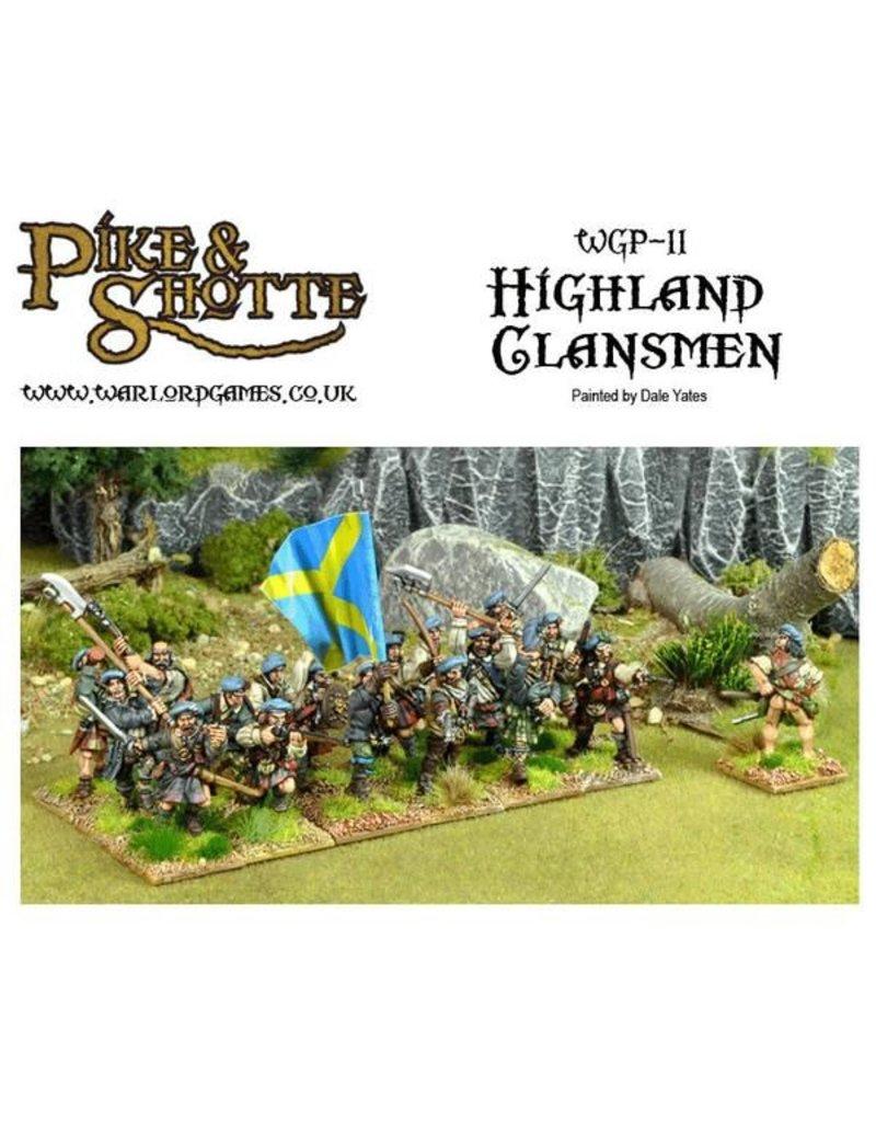 Warlord Games 30 Years War 1618-1648 Highlanders Box Set