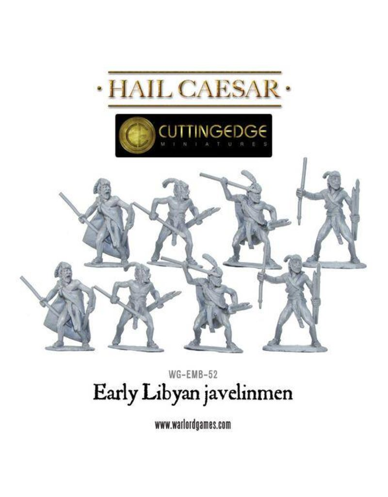 Warlord Games Bronze Age Egyptian Libyan Javelinmen Pack