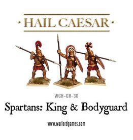Warlord Games Spartan King & Bodyguard