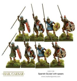 Warlord Games Spanish Scutari with spears