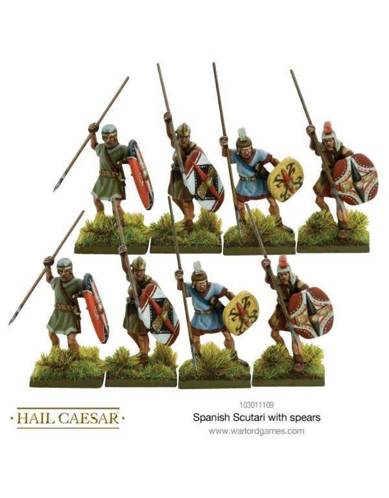 Warlord Games Hispania Spanish Scutari With Spears Pack