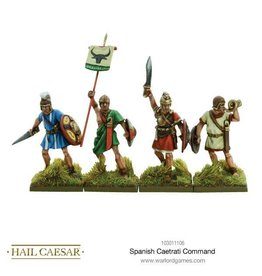 Warlord Games Spanish Caetrati Command