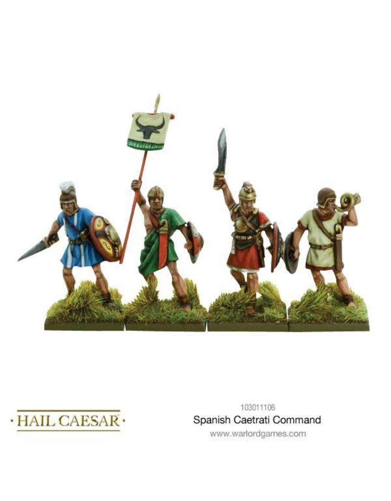 Warlord Games Hispania Spanish Caetrati Command Pack