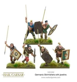 Warlord Games Germanic Skirmishers With Javelins
