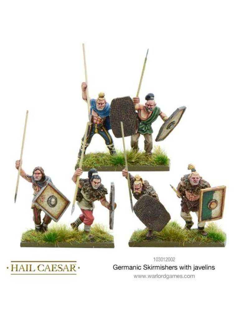 Warlord Games Enemies Of Rome Germanic Skirmishers With Javelins Pack
