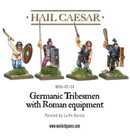 Warlord Games Germanic Tribesman W/Roman Equipment