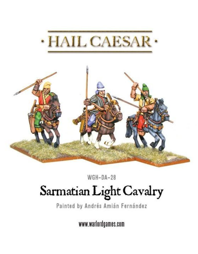 Warlord Games Enemies Of Rome Sarmatian Light Cavalry Pack