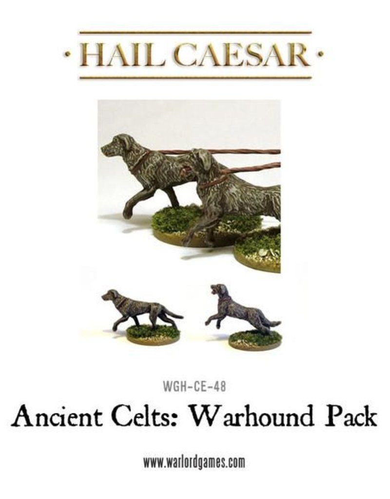 Warlord Games Enemies Of Rome Ancient Celt Warhound Pack