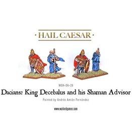 Warlord Games King Decebalus & Shaman Advisor