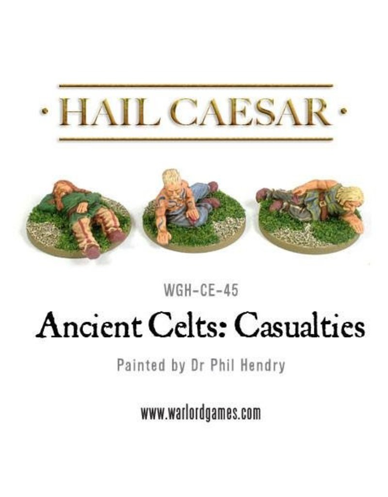 Warlord Games Enemies Of Rome Ancient Celts: Casualties (Carrion Regardless) Pack