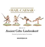 Warlord Games Enemies Of Rome Ancient Celtic Linebreakers Pack