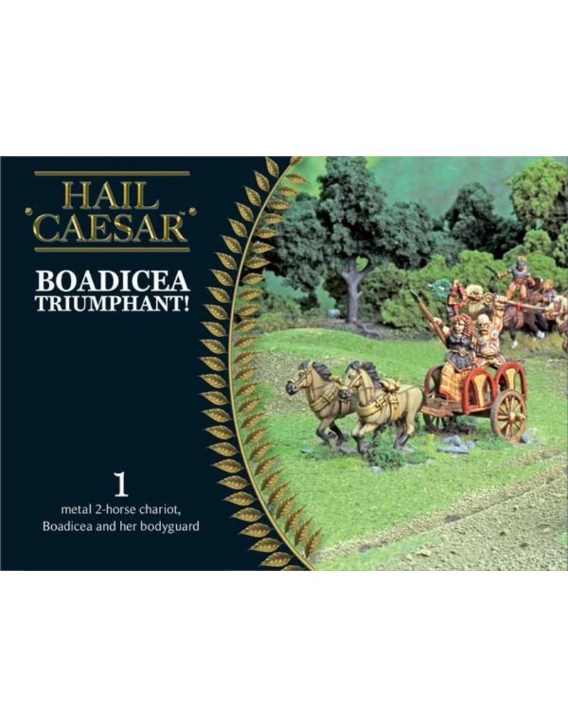 Warlord Games Enemies Of Rome Boadicea Triumphant (+chariot) Box Set